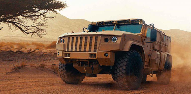 В России сконструировали новый бронемобиль для охраны ядерного оружия