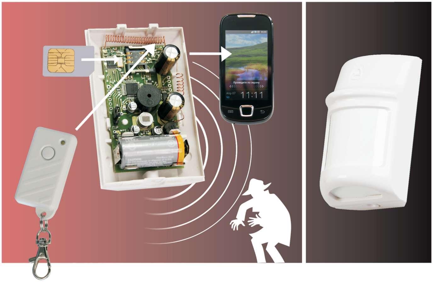 автономная GSM-сигнализация