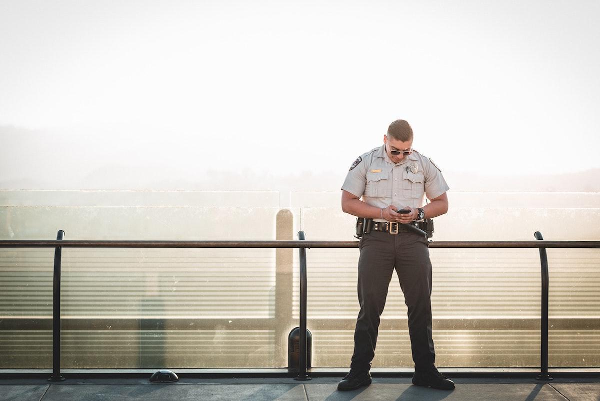 Внешний вид охранника