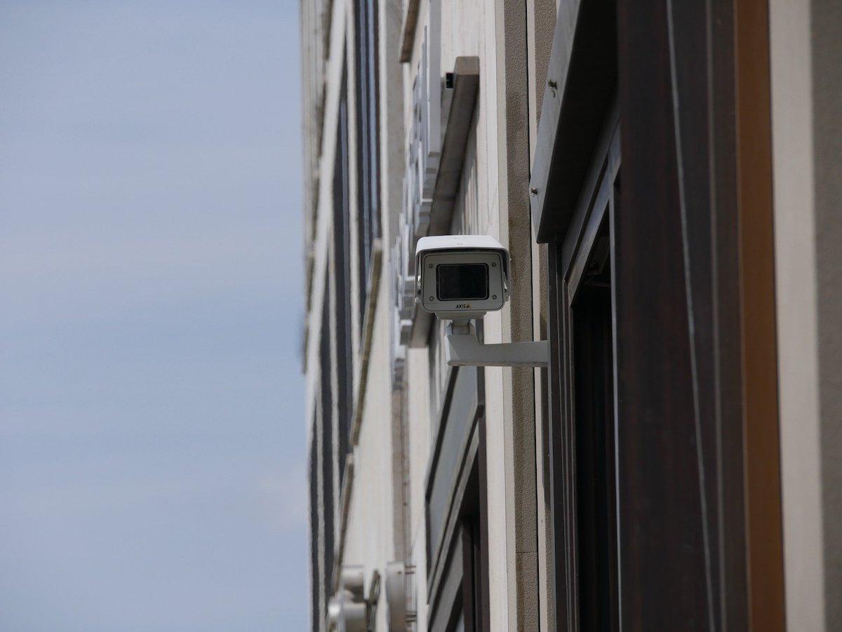 Камеры наблюдения на вокзалах