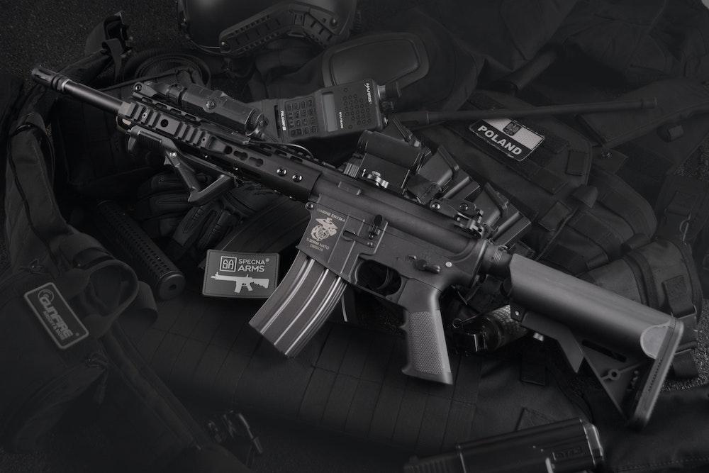 Выдаваемое сотрудникам охранного агентства оружие