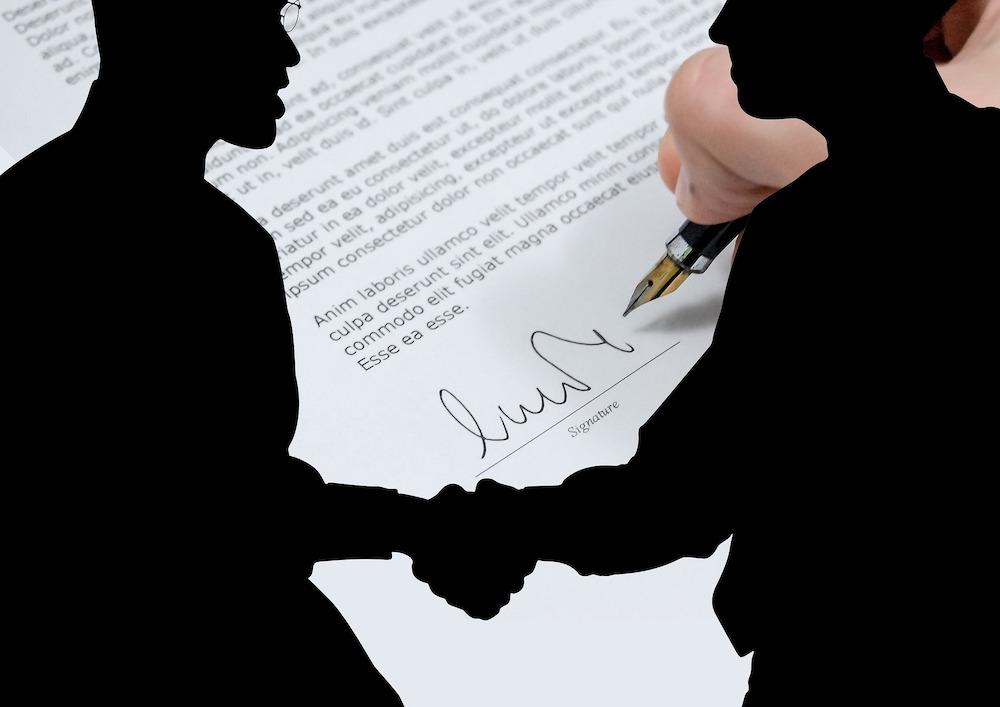 Процесс заключения договора на охрану